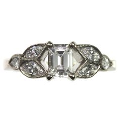 18 carat #diamond #ring by Jana Reinhardt http://www.fldesignerguides.co.uk/engagement-ring-designer/janareinhardt