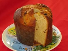 Panettone - Traditional Italian Christmas Bread. this is a brioche-like bread that is flavored with raisins and candied fruit such as citron. simply delicious!! in fact, panettone is so important in italian culture that nobody would dream of having Christmas without it. it is also common to gift a panettone to a friend at christmas time. Italians are good about sharing like that. always remember, sharing is caring. 'tis the reason for the season!! :)