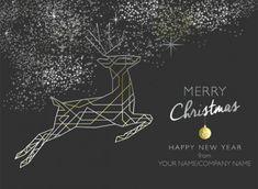 Art Deco Reindeer Send festive cheer the original way by sending a personalised Christmas card. Corporate Christmas Cards, Charity Christmas Cards, Personalised Christmas Cards, Merry Christmas And Happy New Year, Christmas Art, Christmas Ideas, Card Companies, Reindeer, Art Deco