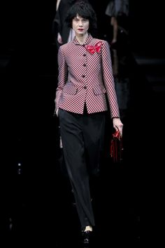Emporio Armani Fall 2015 Ready-to-Wear Collection Photos - Vogue