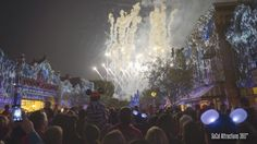 FULL IMMERSIVE Disneyland Forever Fireworks Show with Projection - 60th ...