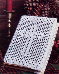 Crochet a Cover for a Bible