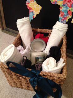 2nd wedding anniversary gift idea - cotton basket.