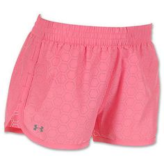 UNDER ARMOUR WOMENS GREAT ESCAPE PERFORATED RUNNING SHORTS XS EXTRA SMALL PINK