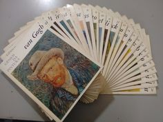 coleção gênios da pintura - 24 fasciculos - abril cultural. Uma coleção para procurar em sebos, na www.estantevirtual.com.br