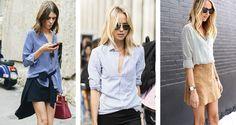 Danielle Noce | Moda, Beleza, Viagem e Sonhos | estilo listrado: camisa