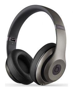 Beats Studio 2 Wireless Noise Reduction Over-Ear Headphone Grey Best In Ear Headphones, Wireless Headphones For Running, Best Noise Cancelling Headphones, Best Headphones, Bluetooth Headphones, Skullcandy Headphones, Headphones Online, Beats Studio, Beats By Dre
