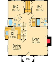 2 bed, 2 bath, 2nd floor bonus/game area total living area 1,351 sq ft--1st floor 996 sq fl--2nd floor 355 sq ft