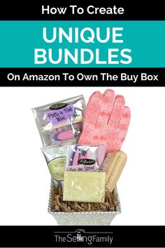 How To Create Unique Bundles On Amazon To Own The Buy Box