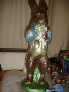 Making a Foiled Bunny