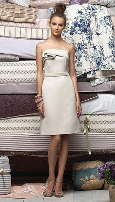 Lela Rose LR134 Short Bridesmaid Dress at frenchnovelty.com