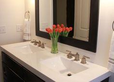 flores en el baño decoracion - Buscar con Google