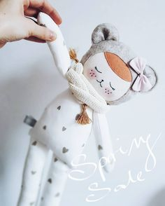 "Polubienia: 185, komentarze: 5 – A Good Start (@a_good_start) na Instagramie: ""SPRING SALE !  25% off on everything   #inmyshop #springsale #forkids #dollmaker"""
