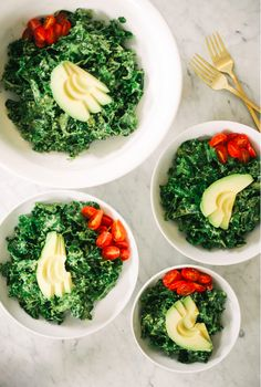 6. Pesto Kale Salad | 7 Fresh And Healthy Dinners That Are Perfect For Spring