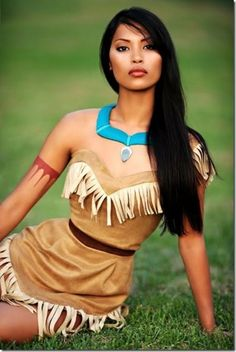 Always thought Pocahontas would be pretty in real life. And as for Aurora, yup she pretty much lived up to expectations too :( yuck!