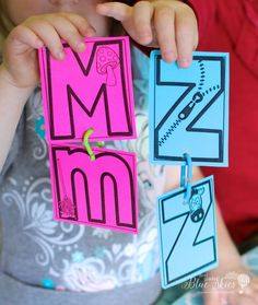 Freebie Kindergarten ABC match - Letter naming is definitely at the top of my Kindergarten list of things I want my students to…
