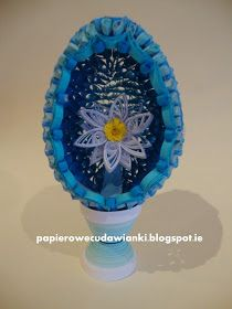 To co robię i co lubię: Quilling jajo-tutorial quilling egg-tutorial