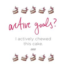 Life is all about balance...Do you feel us? 🍰 ⚖ 🍌 #activeliving #lornajane…