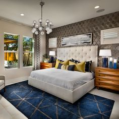 Furniture, Alcove, Floor Plans, New Homes, Home Decor, Bed, Bedroom