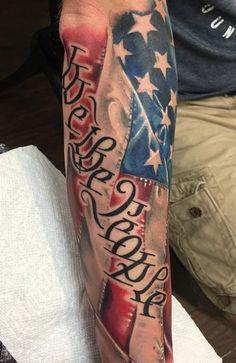 Military Sleeve Tattoo, Forearm Sleeve Tattoos, Military Tattoos, Tattoo Sleeve Designs, Tribal Arm Tattoos, Cool Forearm Tattoos, Arm Tattoos For Guys, Body Art Tattoos, Tatoos