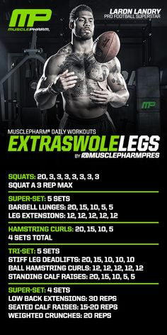 Great leg routine. Hits some quads, mostly hams and calves and abs at the end