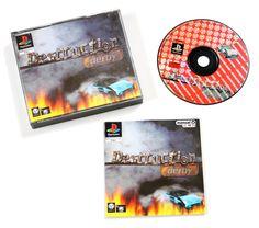 Playstation 1 Destruction Derby für Ps1 in OVP!