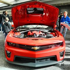 Engine of a Beast - Camaro Camaro Zl1, Chevrolet Camaro, Modern Muscle Cars, New Chevy, Sweet Cars, Hot Rides, Car Engine, Amazing Cars, Autos