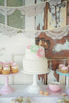 Shabby Chic Tea Party via Kara's Party Ideas | KarasPartyIdeas.com (30)