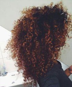 Ombre hair♡♥