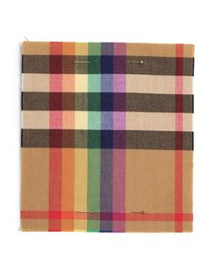 Burberry creates a rainbow tartan in support of LGBT charities