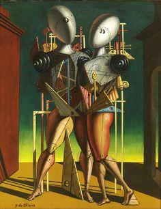 Giorgio de chirico, Ettore e andromaca, 1950 Courtesy of Tornabuoni Art