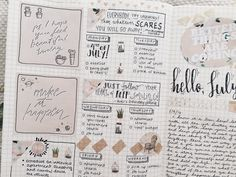 """studypetals: """" 7.4.16+12:08pm // 82/100 days of productivity // journal spread for this week! i have been super productive offline so i haven't gotten to update much, but at least i can show you my..."""