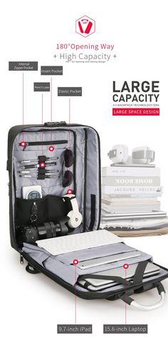 18 Best TigerNu Laptop Travel Business Backpack images  700890a2e17c5
