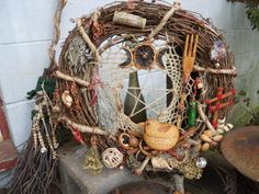 """Lets Get Crafty.....A Witchy Hippy """"Kitchen Witches"""" Wreath - Wicca Online Community For Pagans and Wiccans"""