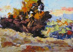 PLEIN AIR STYLE 5x7 ORIGINAL OIL PAINTING by TOM BROWN, painting by artist Tom Brown