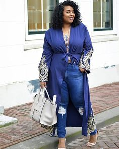 """Ahhh this is so different and cute!! I love this! What other ways would you style this outfit?  #Repost @supersizemyfashion  NEW BLOGPOST 