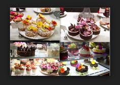 Lots of desserts