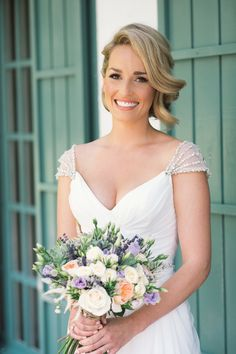 Images by Radka Horvath - Chic Southern Spain Wedding at Casa Rosa | Planned & Styled by Rachel Rose Weddings | Maggie Sottero Bridal Gown | Lilac Flowers | Radka Horvath Photography | http://www.rockmywedding.co.uk/claire-lenny/