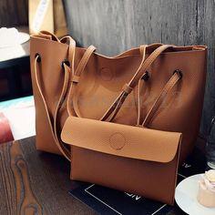 Women Pu Leather Shoulder Messenger Bag Tote Purse Handbag Crossbody Satchel F1