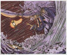 Katsuya Terada illustrates The Legend of Zelda way back when for Nintendo Power