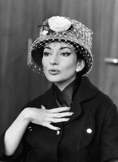 Opera singer Maria Callas in Stuttgart, 1959.  Maria Callas, Commendatore OMRI, was an American-born Greek soprano and one of the most renowned and influential opera singers of the 20th century. Critics praised her bel canto technique, wide-ranging voice and dramatic gift.