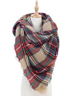 Blanket Scarf for Women Large Tartan Winter Scarves Wrap Shawl Gorgeous