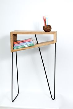 DETROIT the Side Table by Antoine G Artisan Designer made in Franceop CROWDYHOUSE