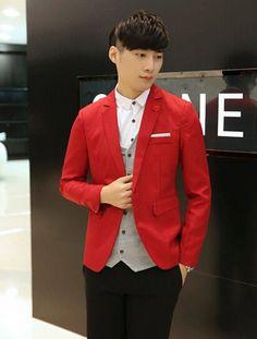 Aliexpress.com: Comprar Hombre de nueva caída de 2015 Men ' s casual pequeño traje chaqueta delgada ocasional masculino del traje hombre trajes coreano para hombre de Blazers fiable proveedores en Ningbo Bestever Trading Co., Ltd.