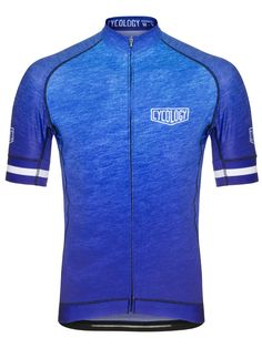 """""""Incognito"""" Blue - stunning Midnight Blue classic men's jersey from Cycology. #cycology, #jersey"""