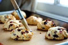 scones recipe meyer lemon cranberries