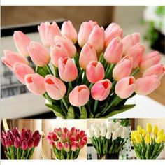 New Qualified Tulip Artificial Flower Latex Real Touch Bridal Wedding Bouquet Home Decor,10pcs  Levert Dropship dig688 #>=#>=#>=#>=#> Click on the pin to check out discount price, color, size, shipping, etc. Save and like it!