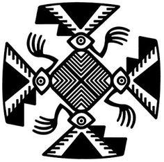 Arte Tribal, Tribal Art, Mexican Graphic Design, Art Alevel, Aztec Culture, Native American Symbols, Paperclay, Indigenous Art, Gourd Art