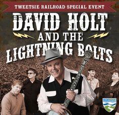 David Holt and the Lightning Bolts at Tweetsie Railroad - May 25, 2014