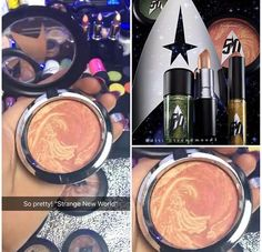 MAC upcoming StarTreck Collection